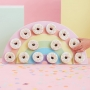 Pastel Rainbow Donut Wall Holder