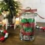 Personalised Christmas Baking Glass Gift Jar