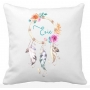 Personalised girls DREAM CATCHER Colour Pillow
