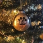 Personalised Pet Christmas Baubles