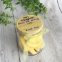 Sorry For Driving You Bananas Personalised Lolly Jar Teacher Gift