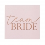 Pink Blush Velvet & Rose Gold Team Bride Guest Book
