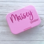 Plain Name Peronalised Vinyl Labels For Kids Lunchboxes