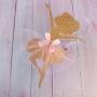 Ballerina Glitter Cake Topper With Tutu Skirt
