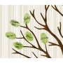 Woodland Baby Shower Guest Signature Canvas