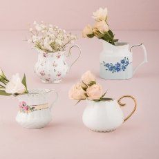 Vintage Creamer Assortment Favour Vase Set