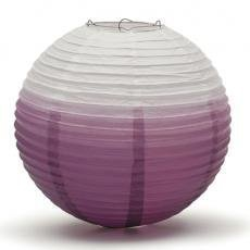 Purple Ombre Hanging Paper Lantern
