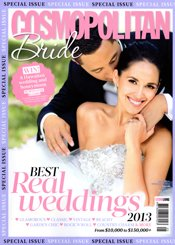 Cosmopolitan Bride Best Real Weddings 2013