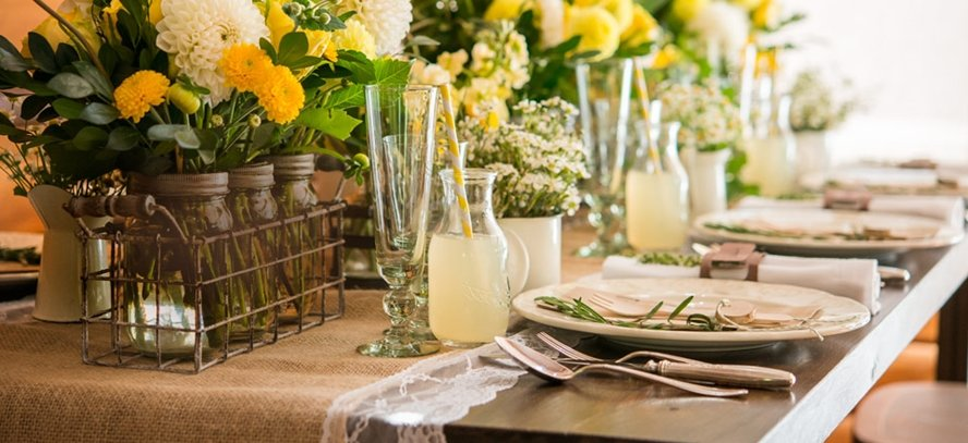 Popular Rustic Wedding Trends